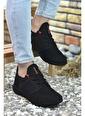 Riccon Siyah Kırmızı Erkek Sneaker 0012105 Siyah
